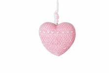 купить Декоративное украшение Сердце розовое цена, отзывы