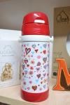 купить Термос детский с трубочкой Сердца цена, отзывы
