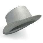 купить Шляпа Цилиндр серебряная цена, отзывы