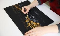 купить Скретч картина Египет ночью цена, отзывы