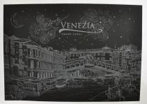 купить Скретч картина Венеция ночью цена, отзывы