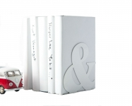 купить Держатель для книг Амперсанд белый цена, отзывы