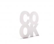 купить Держатель для книг Cook белый цена, отзывы