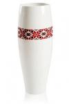 купить Глянцевая ваза с орнаментом высокая цена, отзывы