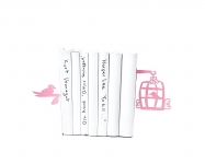 купить Держатель для книг rose клетка с птицами цена, отзывы