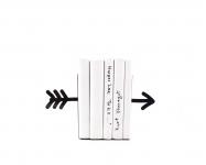 купить Держатель для книг Стрела черная цена, отзывы