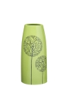купить Декоративная ваза Деревья зеленая 27 см цена, отзывы