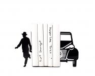 купить Держатель для книг Писатель и автомобиль цена, отзывы