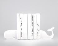 купить Держатель для книг Кит белый цена, отзывы