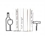 купить Держатели для книг Больше вина меньше нытья цена, отзывы