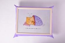 купить Поднос на подушке Ленивый кот цена, отзывы