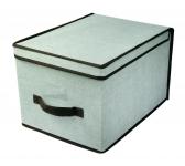 купить Короб складной с крышкой 40x30x25 см цена, отзывы