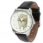 купить Наручные часы Кот с кружкой цена, отзывы