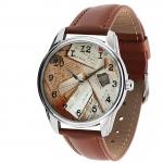 купить Наручные часы Конверты коричневый цена, отзывы