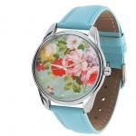 купить Наручные часы Розочки голубой цена, отзывы