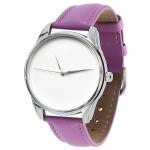 купить Часы наручные Минимализм фиолетовый цена, отзывы