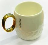 купить Керамическая чашка Starbucks White Gold  цена, отзывы