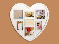купить Фоторамка Семейная на 7 фото Сердце цена, отзывы