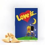 купить Печенье с предсказаниями Love is... цена, отзывы