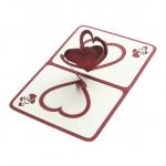 купить Объемная открытка Признание в любви бордо цена, отзывы