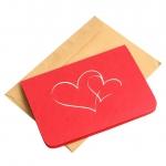 купить Объемная открытка Признание в любви красное цена, отзывы