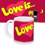 купить Чашка red Love is...  цена, отзывы
