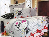 купить Комплект постельного белья для детей Hello Kitty цена, отзывы