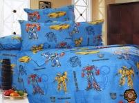купить Комплект постельного белья для детей Трансформеры цена, отзывы