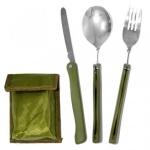 купить Походный набор (ложка+вилка+нож) цена, отзывы