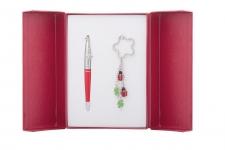 купить Подарочный набор ручка и брелок Алексус цена, отзывы