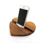 купить Подставка для телефона из дерева Сердце цена, отзывы