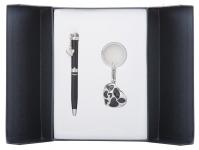 купить Подарочный набор ручка и брелок Тая черный цена, отзывы