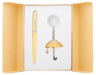 купить Подарочный набор ручка и брелок Эйрин желтый цена, отзывы