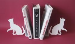 купить Книгодержатель Коты Белые  цена, отзывы