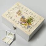 купить Деревянная шкатулка Ящик с прянностями цена, отзывы