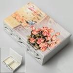 купить Деревянная шкатулка Парижский букет цена, отзывы