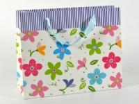 купить Подарочный пакет Яркие цветы  цена, отзывы