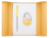 купить Подарочный набор ручка и держатель для сумки Лиций желтый цена, отзывы