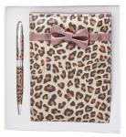 купить Подарочный набор ручка и зеркало Эрис леопардовый цена, отзывы