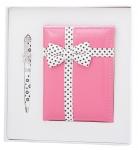 купить Подарочный набор ручка и зеркало Чара розовый цена, отзывы
