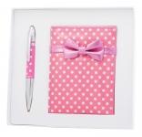 купить Подарочный набор ручка и зеркало Никс розовый цена, отзывы