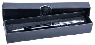 купить Шариковая ручка в черном подарочном футляре Мидас цена, отзывы