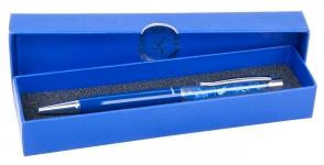 купить Шариковая ручка в синем подарочном футляре Мидас цена, отзывы