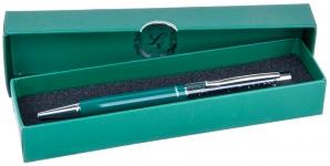 купить Шариковая ручка в зеленом подарочном футляре Мидас цена, отзывы