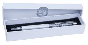 купить Шариковая ручка в белом подарочном футляре Мидас цена, отзывы