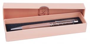 купить Шариковая ручка в коричневом подарочном футляре Мидас цена, отзывы