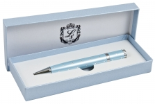 купить Шариковая ручка с кристаллами в подарочной упаковке Аделфи синяя цена, отзывы