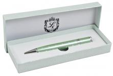 купить Шариковая ручка с кристаллами в подарочной упаковке Аделфи зеленая цена, отзывы