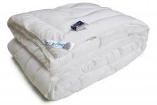 купить Одеяло из искусственного лебяжьего пуха чехол тик теплое 140х205 см цена, отзывы