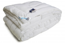 купить Одеяло из искусственного лебяжьего пуха чехол тик теплое 200х205 см цена, отзывы